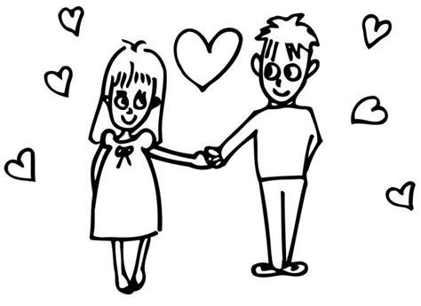 imagenes de novios faciles para dibujar dibujos faciles de dibujar de parejas imagui
