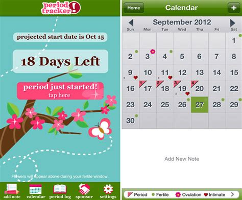 Tracker App The 4 Best Period Tracker Apps For Ios Android