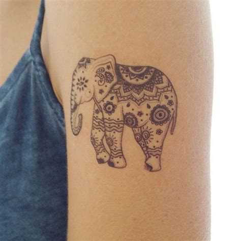 indian elephant tattoo 10 best ideas about indian elephant tattoos on