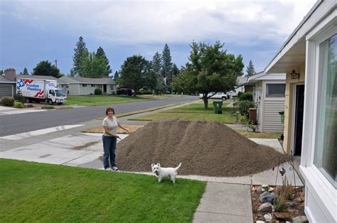 Yards In A Ton Of Gravel 1 yard of gravel coverage home improvement