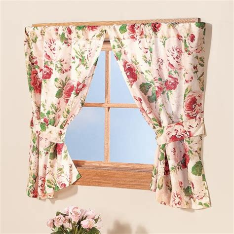 floral window curtains english floral window curtains window treatment walter