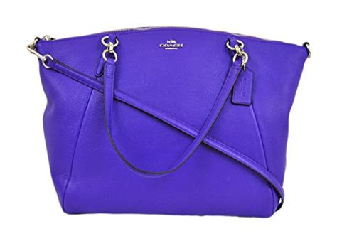 Promo Tas Branded Coach Small Kelsey Gold Tas Coach Original Nwt Ns usa coach leather small kelsey cross bag medium purple 11street malaysia messenger