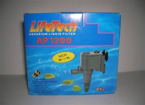 Pompa Aquarium Jebo pompe jebo aquarium lifetech submersible ap1200 dans