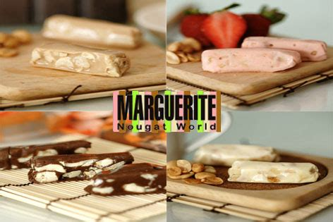 Marguerite Green Tea Almond Nougat kriskros