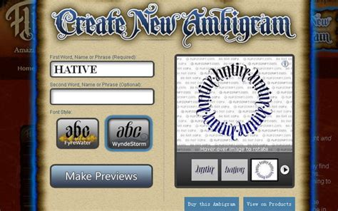 ambigram tattoos generator 55 cool ambigram generators and designs hative