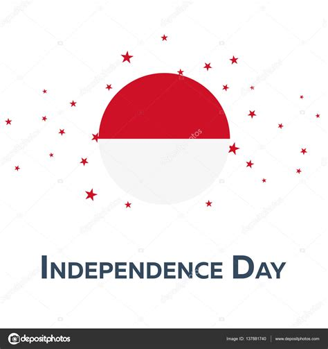 design indonesia independence day independence day of indonesia patriotic banner vector