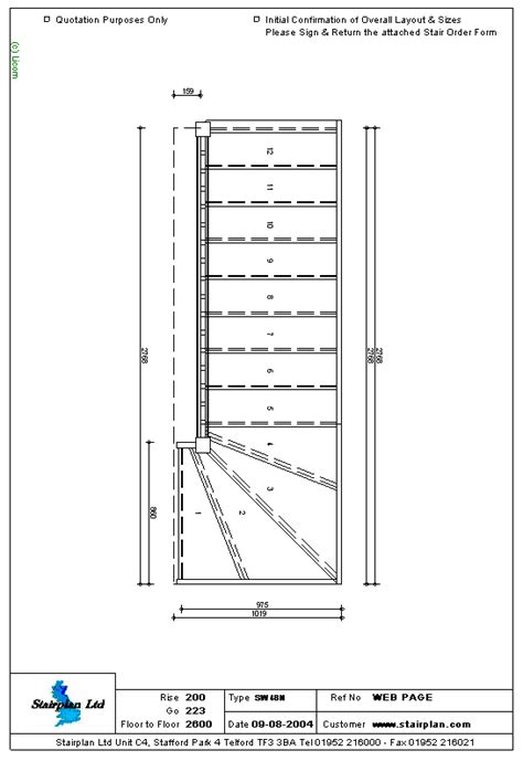 stair layout video staircases made to measure staircase drawing of a 4 tread