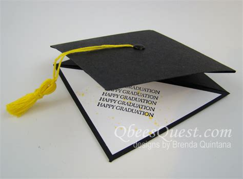 how to make a graduation cap card grad cap gift card holder by qbee at splitcoaststers