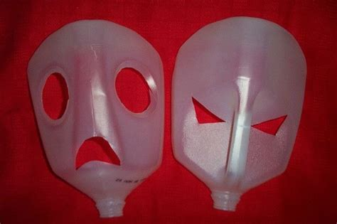 How To Make Paper Mache Masks - milk bases for paper machie masks crafts quot paper