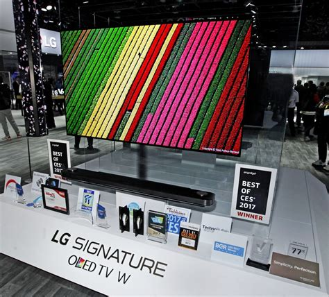 best ces lg electronics earns best of the best ces 2017 honors