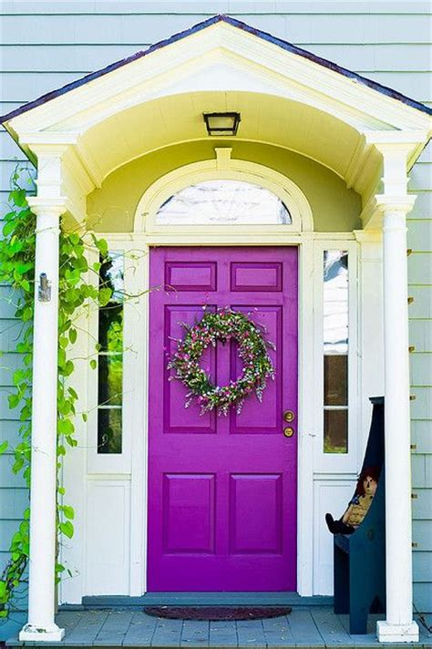 door accent colors for greenish gray 26 bold front door ideas in bright colors shelterness