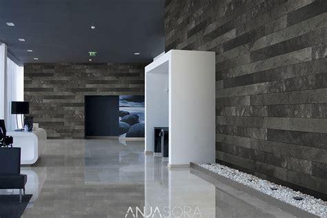 estructura de piedra en color blanco y negro fotograf 237 a de decoraciones con piedra natural para salones