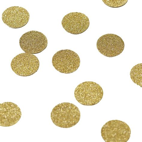 Table Confetti by Gold Glittery Table Confetti By Postbox