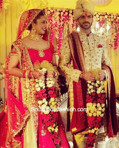 vivek dahiya sherwani divyanka tripathi and vivek dahiya s wedding south india