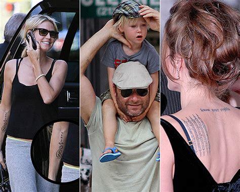 madre con hijo en hotel xxxxxx amor de madre as 237 son los tatuajes que las celebrities