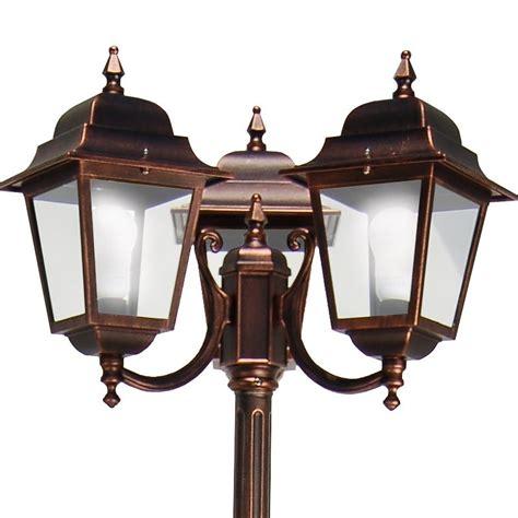 athena illuminazione athena lione palo 3 lanterna quadrata classica