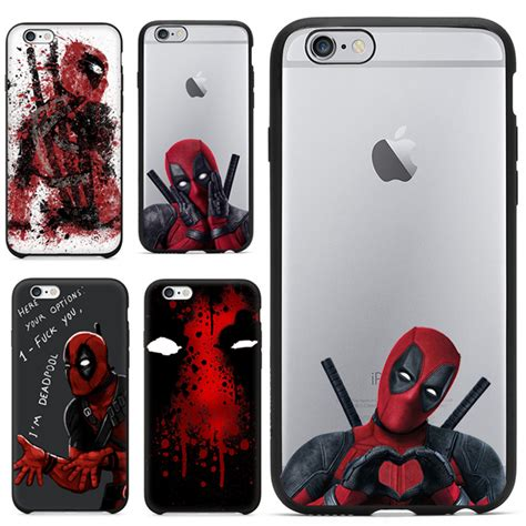 Marvel Casing Iphone 5 2016 selling 3d cool marvel deadpool coque
