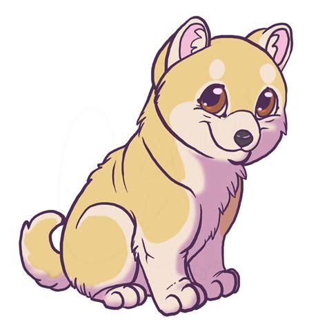 chibi puppy chubi chibi shiba by instantcoyote on deviantart