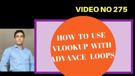 learn vlookup youtube learn excel video 275 vba vlookup with loops