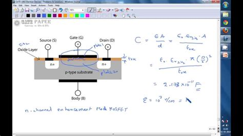 gate 1995 ece capacitance and breakdown voltage of circular mos capacitor