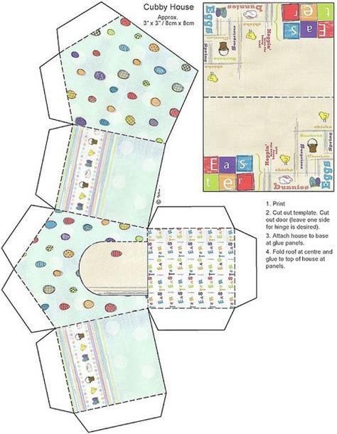 Paper Folding House Template - 147 best images about imprimibles cajas bolsas on
