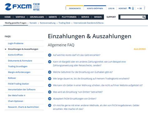 barauszahlung kreditkarte fxcm auszahlung einzahlung 187 im detail erkl 228 rt infos