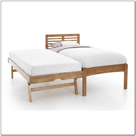 Wooden Trundle Bed Frame Beds Home Design Ideas Trundle Bed Frame And Mattress