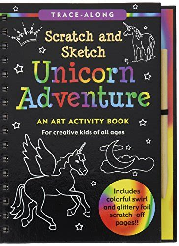 magical unicorn activity book for mazes dot to dot coloring matching crosswords book for activity book for ages 3 5 4 8 5 12 books unicorn adventure scratch and sketch an activity book