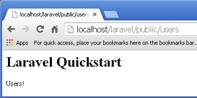 laravel tutorial quickstart php5 mysql tutorial laravel 4 framework preview routes