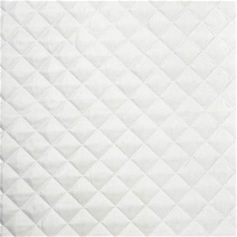 White Quilted Fabric By The Yard by Satin Quilted Polyester White Fabric Sold By The Yard