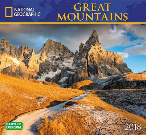Calendar 2018 National Geographic Cheapest Copy Of National Geographic Great Mountains 2018