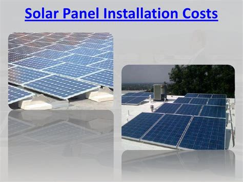 are solar panels expensive to install solar panels cost