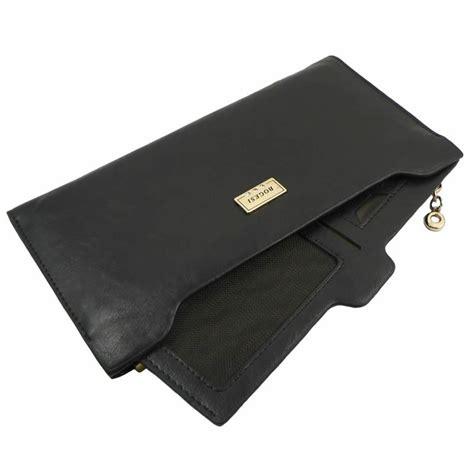 portefeuille en cuir pour femme noir