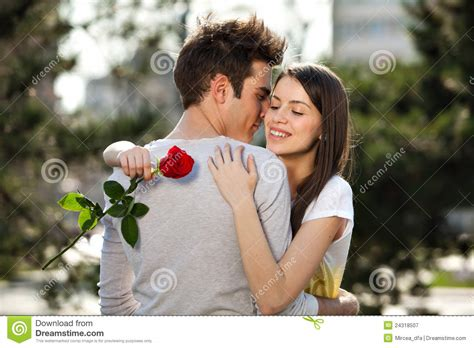 photography lovers romantic young lovers stock image image of adult people