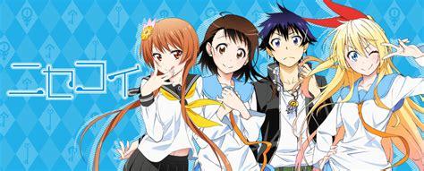 nisekoi false love tv anime news network nisekoi mangauk