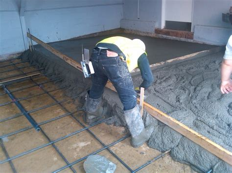 garage floor concrete pour jpg residential driveway