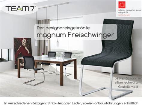 team 7 magnum stuhl team 7 magnum wohnen leben fleischmann