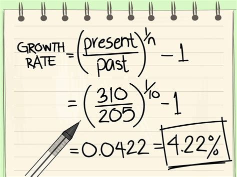 How To Find Of How To Calculate Growth Rate With Calculator Wikihow