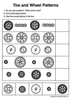 pattern unit worksheets monster truck math addition instead of multiplication