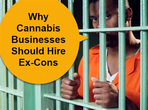 An Ex Convict Has A Difficult Time Finding Employment Because His Criminal Record Has Become His Why Cannabis Businesses Should Hire Ex Cons