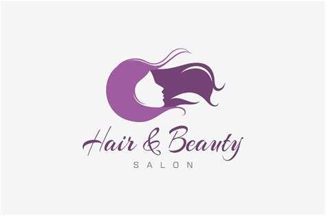 hair beauty salon logo logo templates creative market