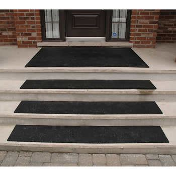 Heated Stair Mats Outdoor by Technoflex Outdoor Stair Treads And Entrance Mat Collection