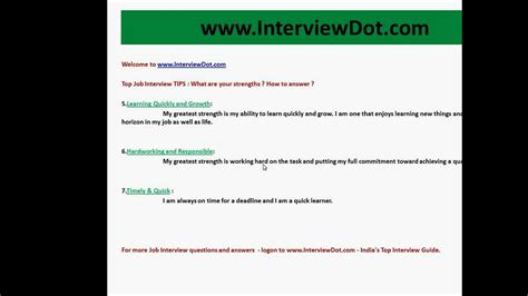 resume strengths and weaknesses weaknesses answer job strengths