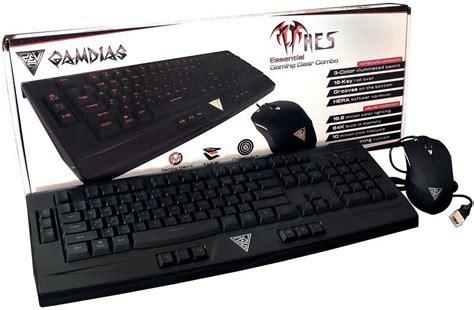 Gamdias Gkc6000 Ares Mouse Gms5500 Ourea gamdias ares essential mouse keyboard bundle utg 229 tt alina se
