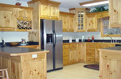 kitchen cabinets pine 10 rustic kitchen designs with unfinished pine kitchen