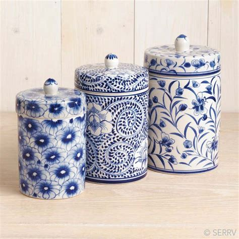 canisters marvellous blue canister set canister sets