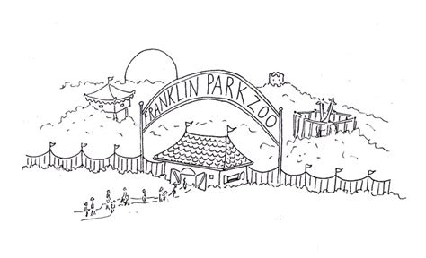 zoo map coloring page zooientrance free coloring pages