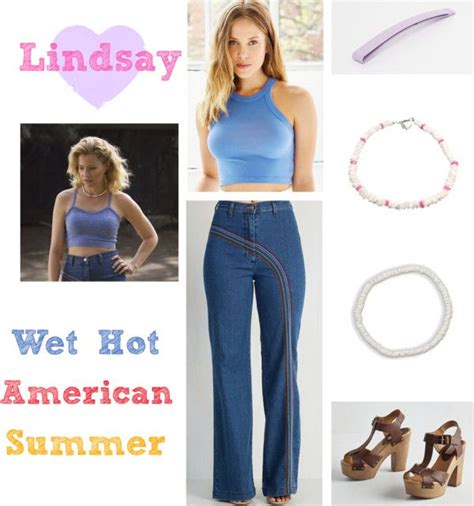 wet hot american summer first day of c tv mini series everyday cosplay lindsay from wet hot american summer