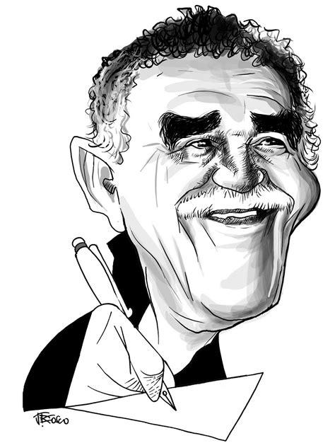 JBoscocaricaturas: Gabriel Garcia Marquez