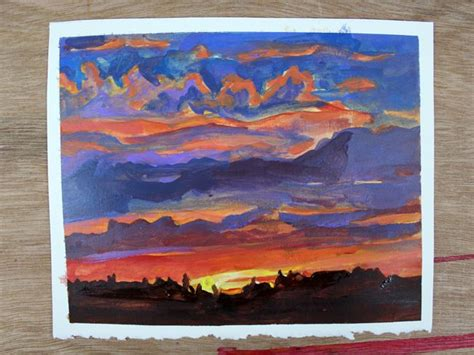 diy sunset painting 201 best images about collage painting and drawing on